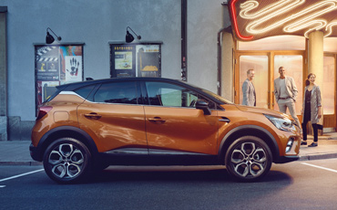 Orange Renault Captur