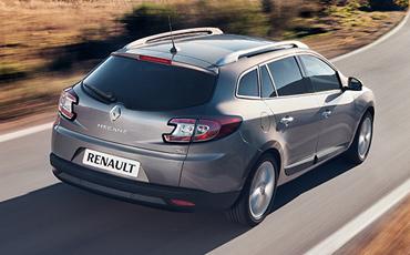 Renault Megane Silver